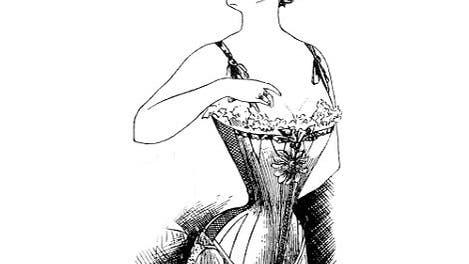 Korsett (um 1904)
