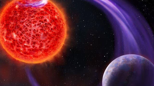 Planetensuche mit Polarlichtern