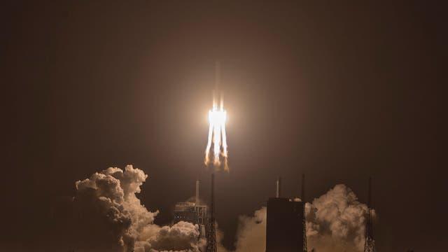 Das chinesische Raumschiff »Chang'e 5« startete am 23. November 2020 ins Weltall.