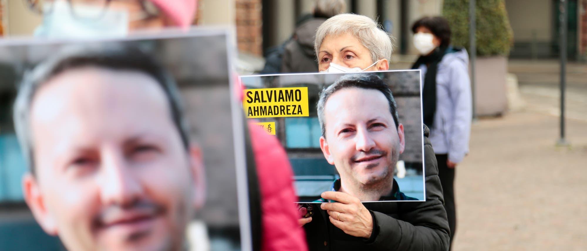 Am 28. November haben Amnesty International und Tadicali Italiani einen Sitzstreik organisiert, um den iranisch-schwedischen Arzt AhmadReza Djalali vor der Todesstrafe zu bewahren.