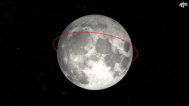 Nach der Abbremsung am 29. November 2020 begann die Sonde »Chang-e 5« auf einer nahezu kreisförmigen Umlaufbahn von einer elliptischen Bahn um den Mond zu fliegen, sagte die CNSA.