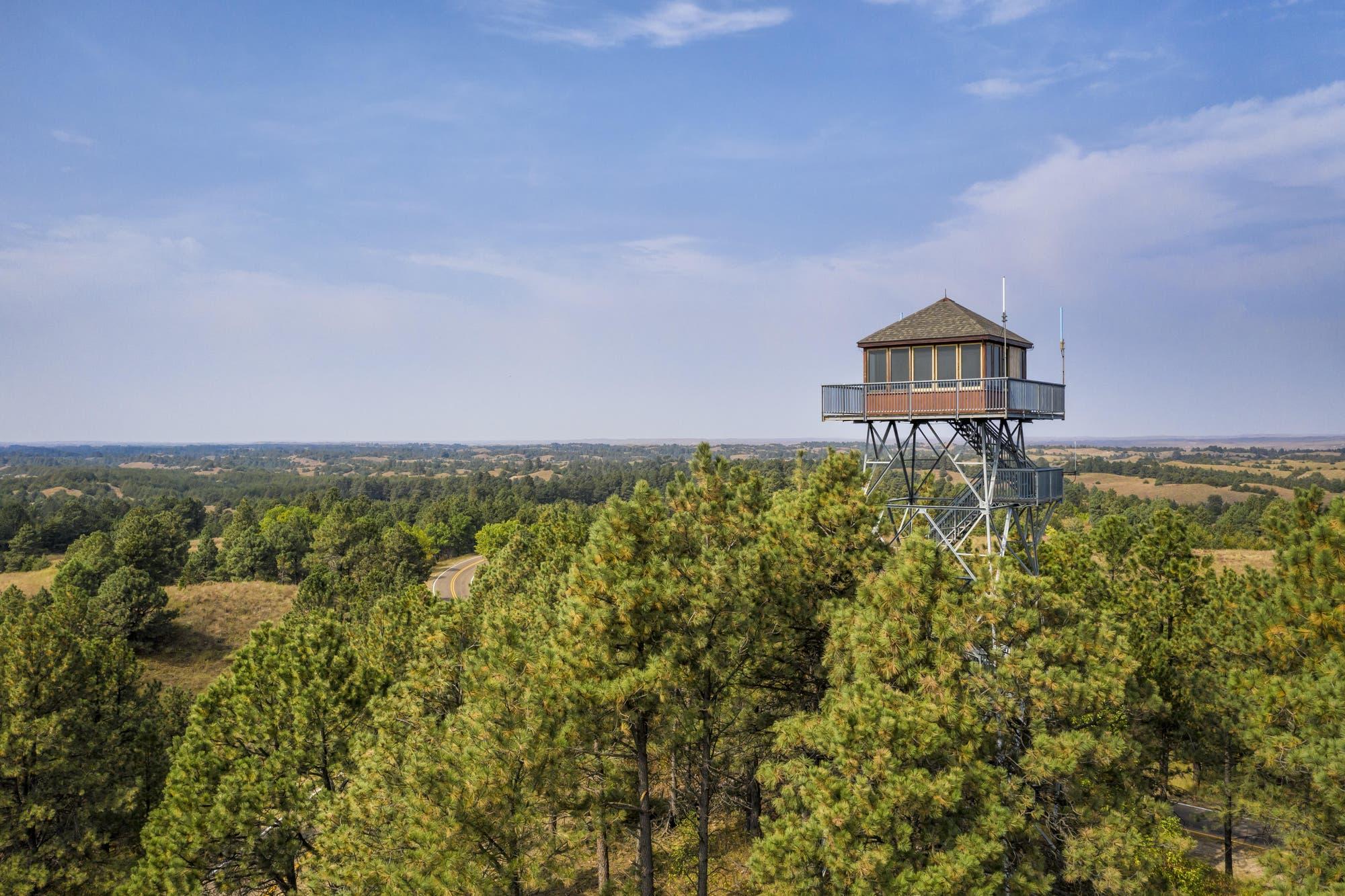 Feuerwachturm in Nebraska
