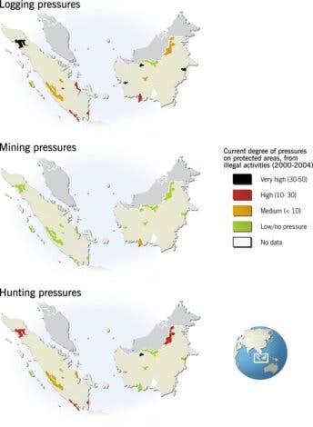 Gefährdete Schutzgebiete