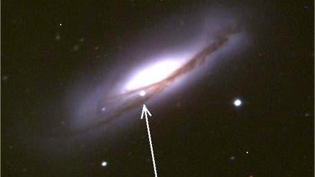 Supernova 2002bo in der Galaxie NGC 3190