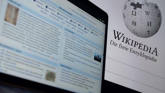 Startseite und Hauptseite der deutschsprachigen Wikipedia