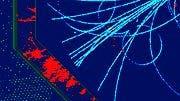 Simulation eines Higgs-Events im ILC
