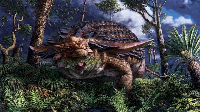 So oder so ähnlich könnte der Dinosaurier ausgesehen haben