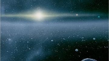 Suburbia des Sonnensystems: Der Kuiper-Gürtel