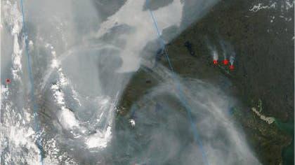Dunst über der Arktis