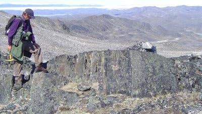Am Beginn der Zeit: altes Gestein auf Grönland