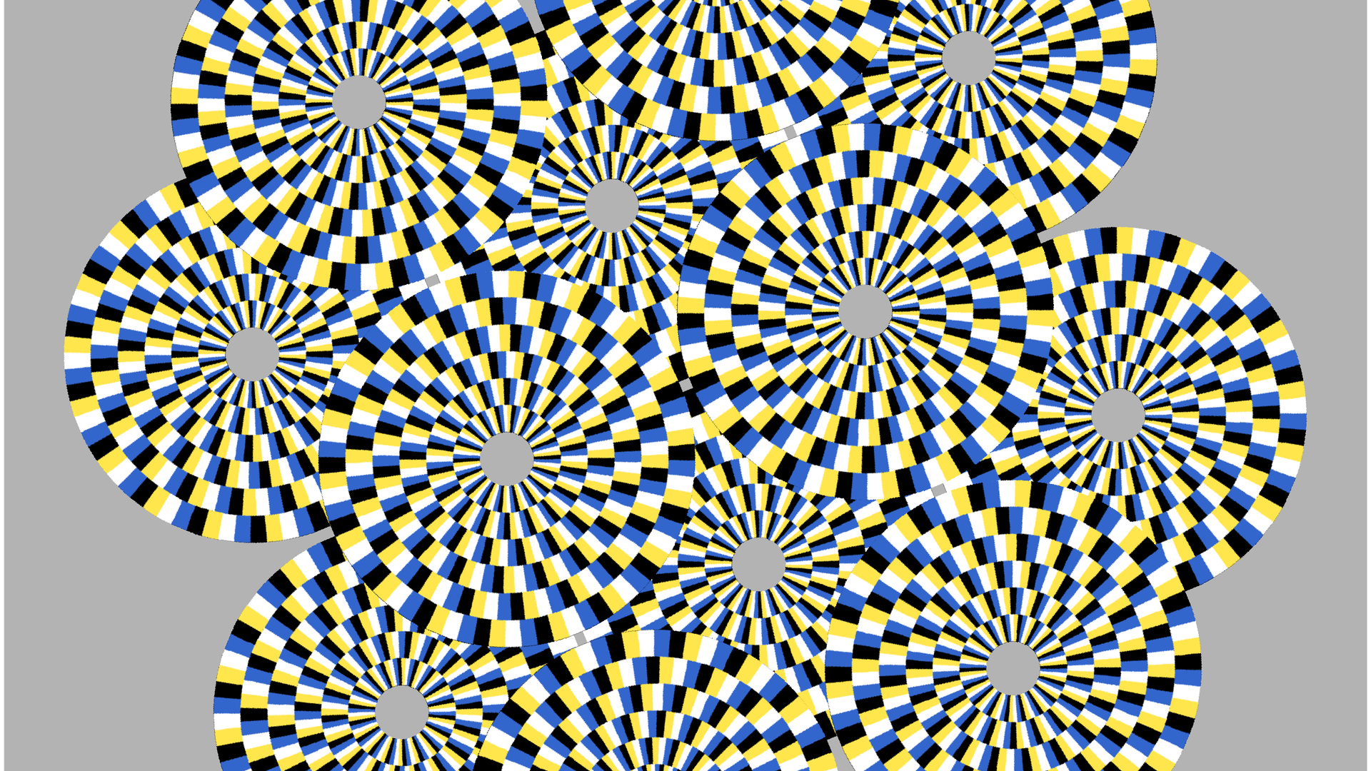 Rotating Snakes Illusion