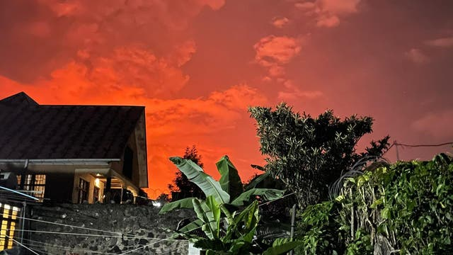 Nyiragongo Vulkanausbruch