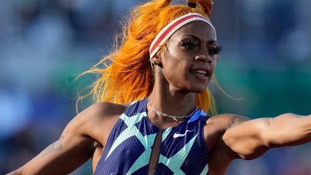 Sha'Carri Richardson bei der Olympia-Qualifikation am 19. Juni 2021