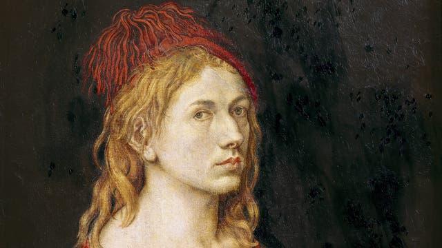 Sein »Selbstbildnis mit Eryngium« überschrieb der 22-jährige Dürer mit »My Sach die gat, als es oben schtatt« – »Mein Leben wird verlaufen, wie es oben festgeschrieben ist«. Offenbar liebte es Dürer, sich die Kräfte des Schicksals vorzustellen.