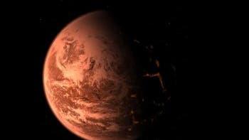 Planet Gliese 876C - meint der Künstler ...