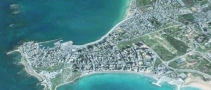 Luftbild von Tyros