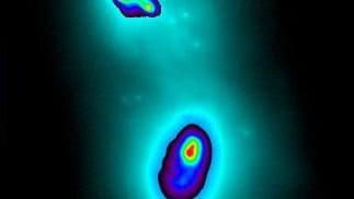 Kollidierende Galaxien