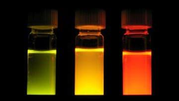 Bunt leuchtende Nanokristalle