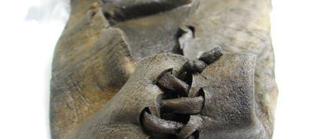 Ältester Schuh Norwegens