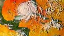 Hurrikan im aufgeheizten Golf