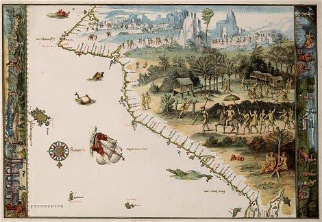Vallard-Karte