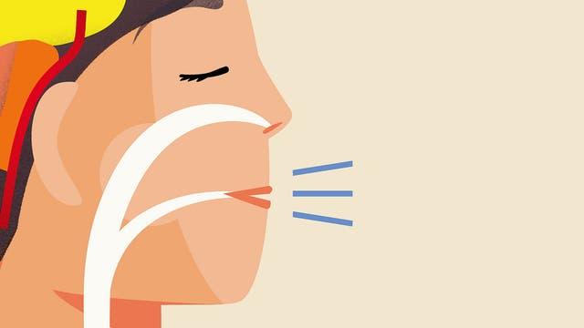 Aus der bewussten Atmung lässt sich sehr viel Kraft ziehen.