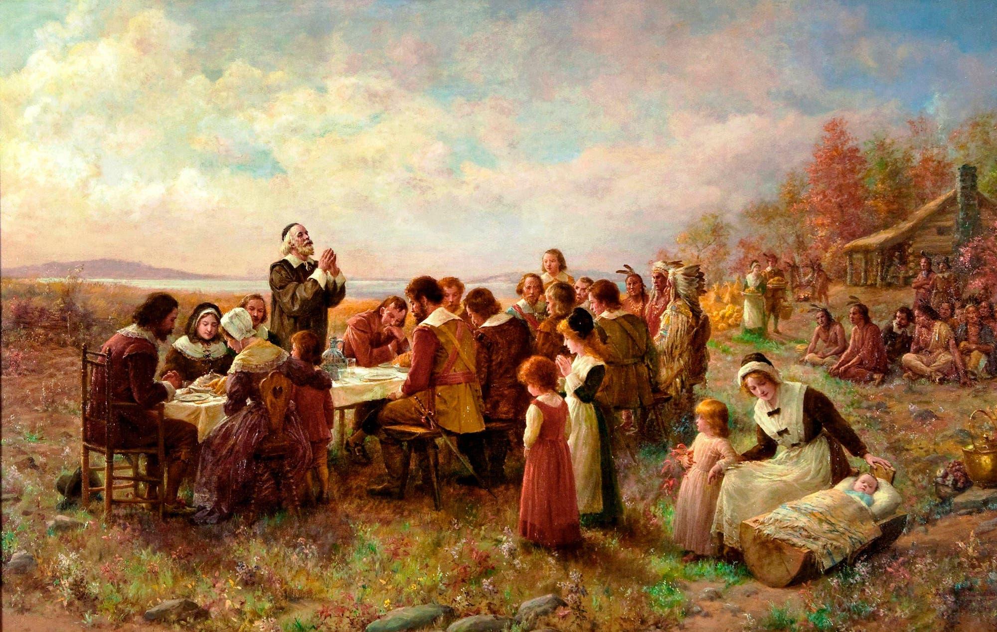 Thanksgiving mit den Indianern