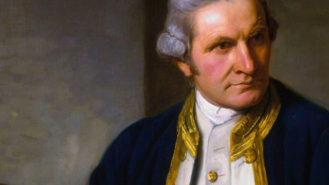 Nathaniel Dance-Holland: Portrait von Captain James Cook, um1775.