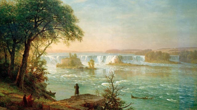 Die Wasserfälle von St. Anthony am Mississippi