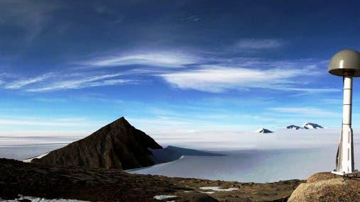 Grönland mit GPS-Station