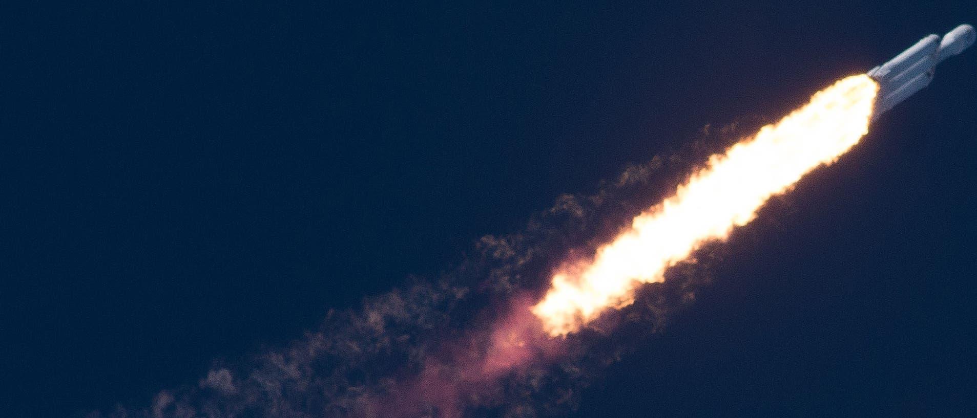 SpaceX-Schwerlastrakete Falcon Heavy