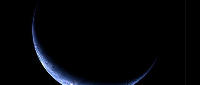 Rosetta blickt auf die Erde