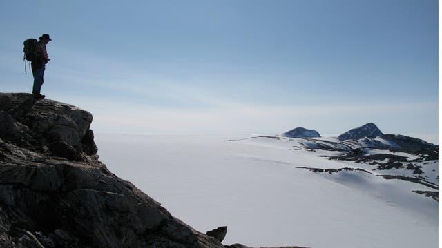 Nunatak auf Grönland
