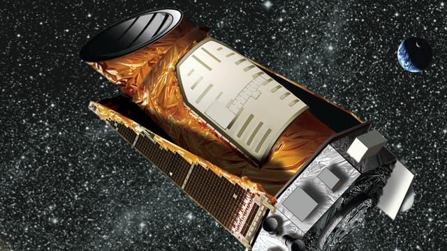 Wetraumsatellit Kepler