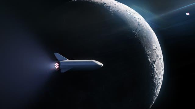Big Falcon Rocket von SpaceX