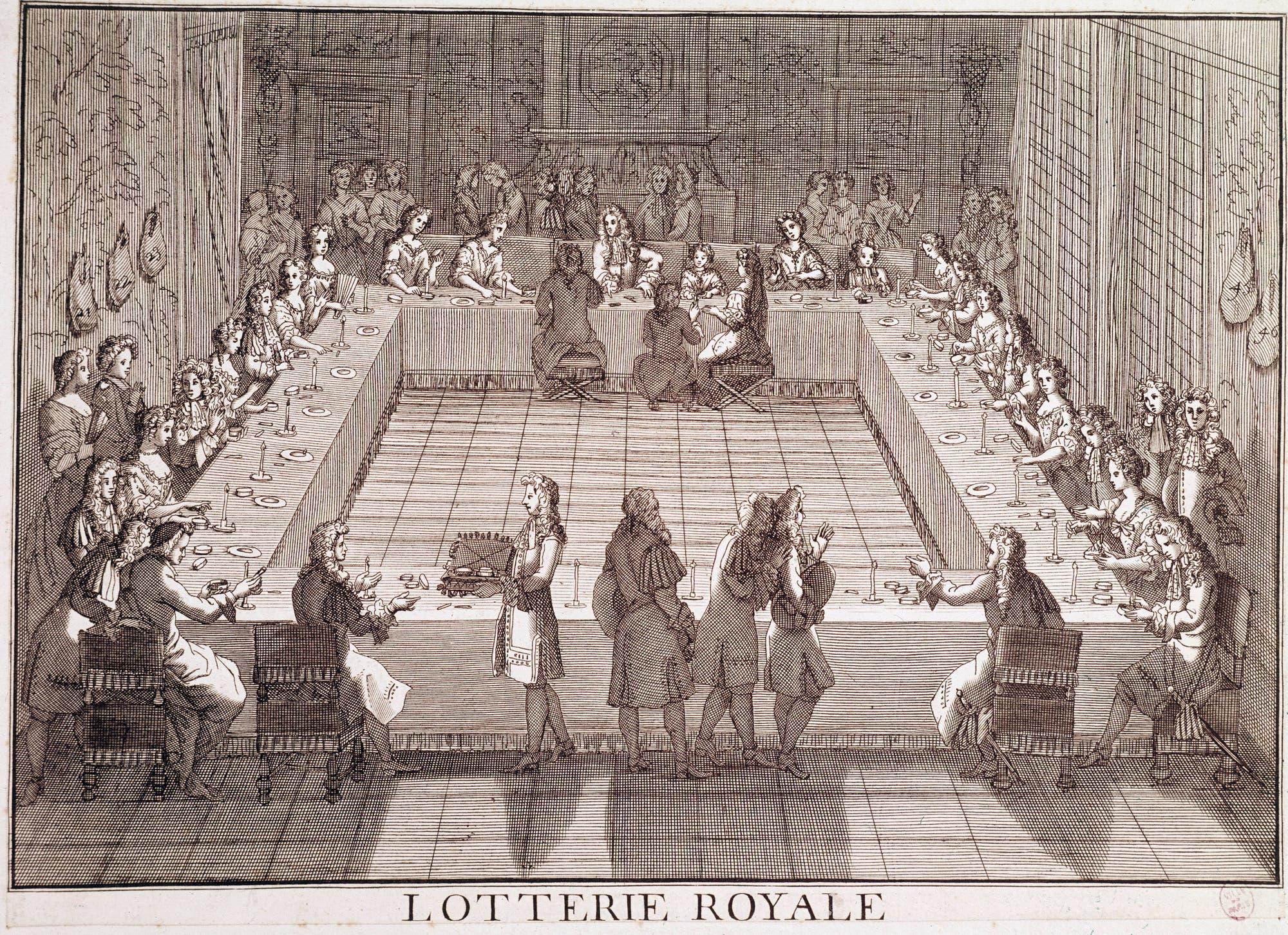 Königliche Lotterie im 17. Jahrhundert