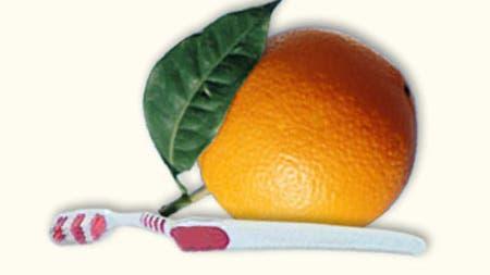 Orangensaft nach Zähneputzen