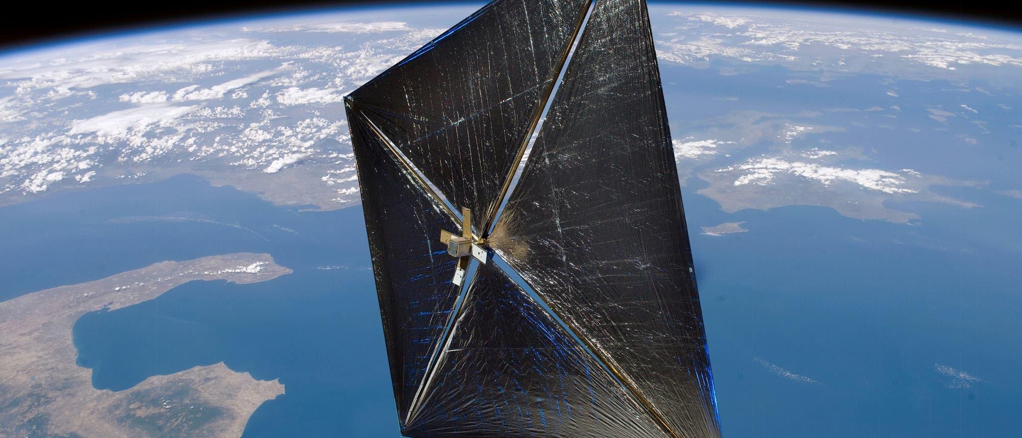Sonnensegel der NASA
