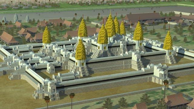 Simuliertes Angkor