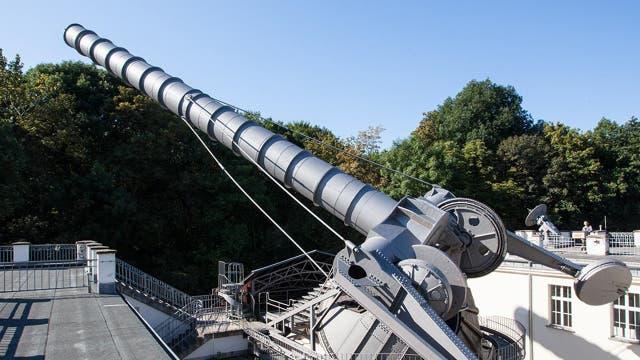 Größere Teleskope bringen größere Erkenntnisse.
