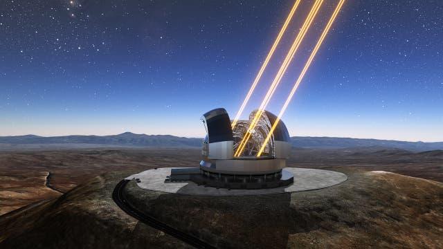 Wie sieht die Zukunft der Teleskope aus?