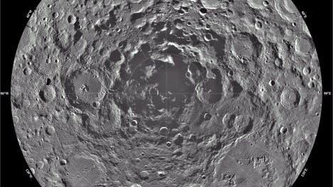 Südpol des Mondes