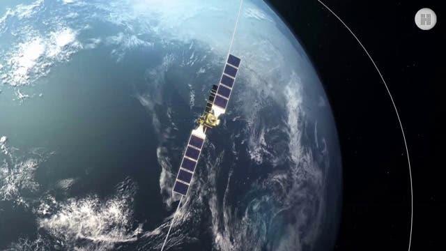 Data-Highway für die zeitnahe Übertragung der Sensordaten von Erderkundungs-Satelliten