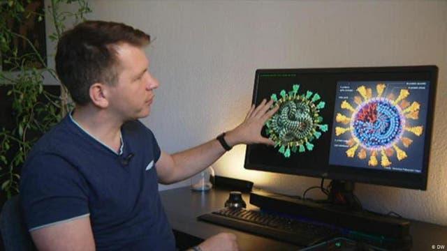 Dem Virus ein Gesicht geben