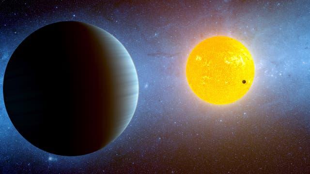 Heiße Erde Kepler 10c