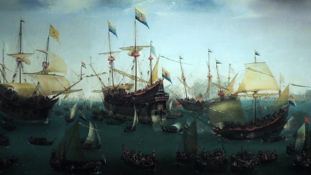 Die zweite Expedition nach Ostindien, 1599