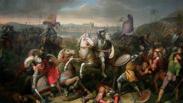 Die Schlacht von Wenzenbach (1504)