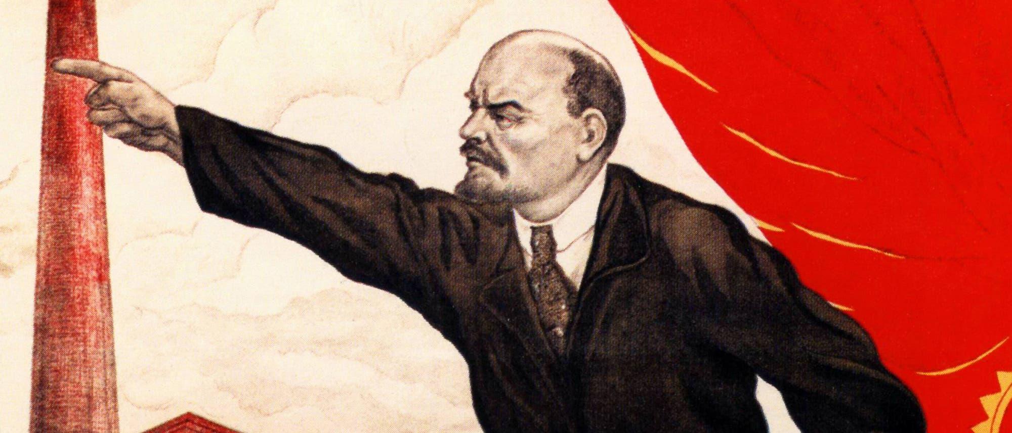 Lenin weist die Richtung