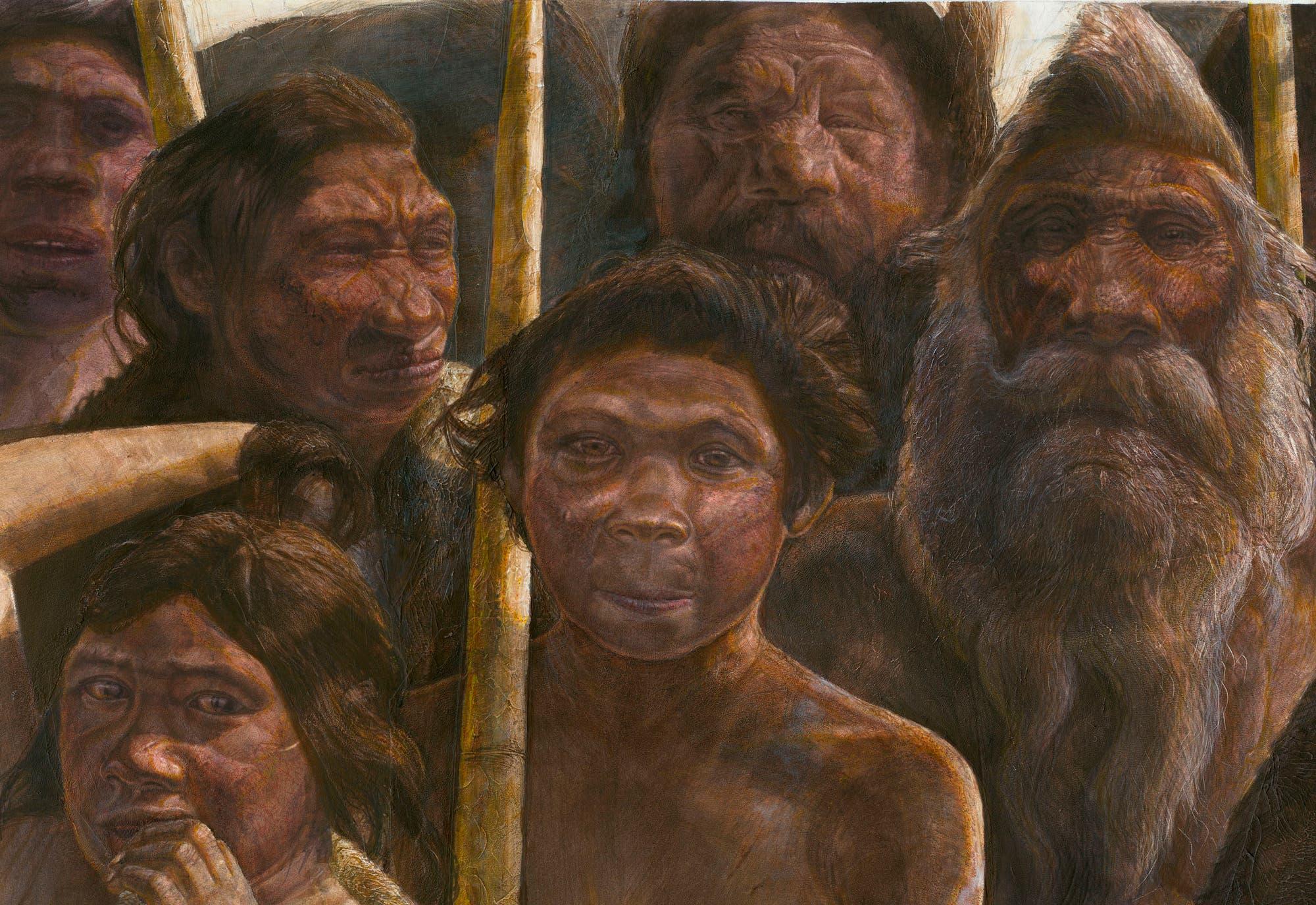Die Gruppe aus der Sima de los Huesos