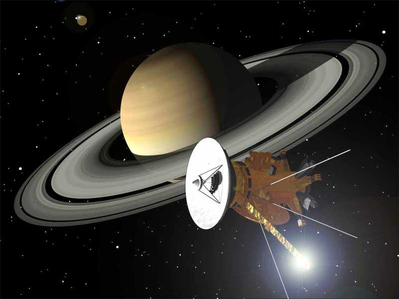 Cassini erkundet Saturn